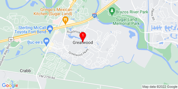 Google Map of Greatwood, TX