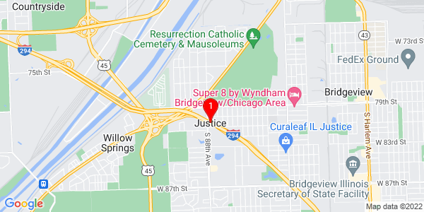 Google Map of Justice, IL