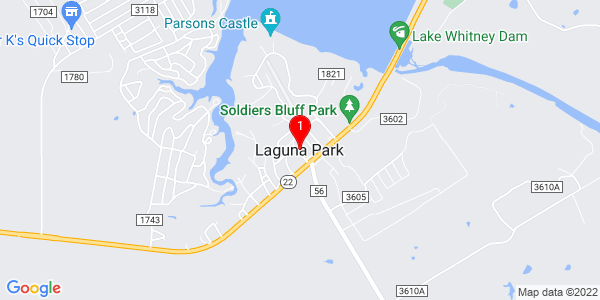 Google Map of Laguna Park, TX