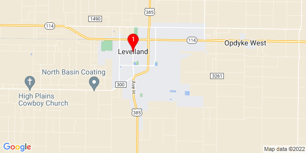 Google Map of Levelland, TX