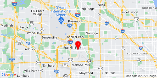 Google Map of Leyden, IL