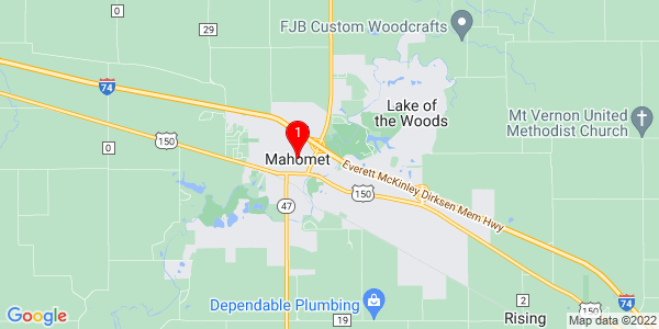 Google Map of Mahomet, IL