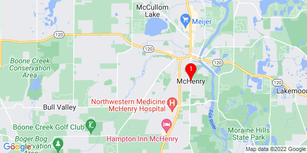 Google Map of McHenry, IL