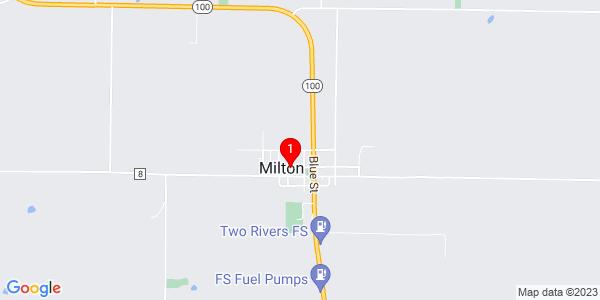 Google Map of Milton, IL