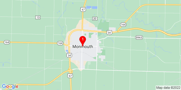 Google Map of Monmouth, IL