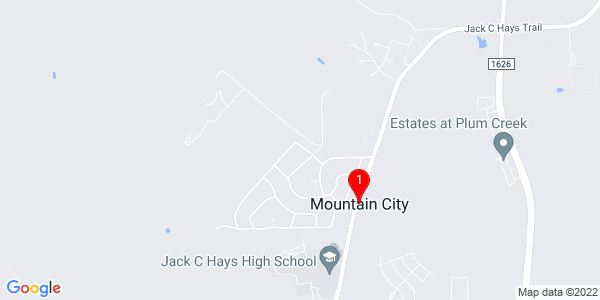 Google Map of Mountain City, TX