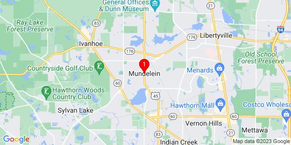 Google Map of Mundelein, IL