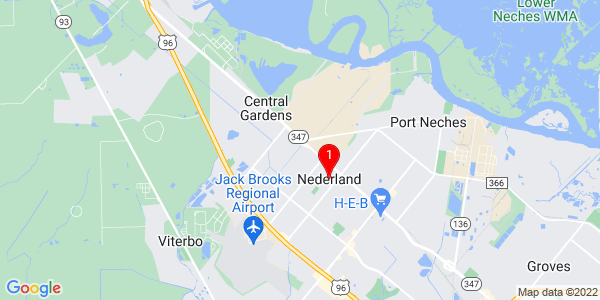 Google Map of Nederland, TX