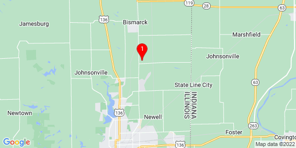 Google Map of Newell, IL