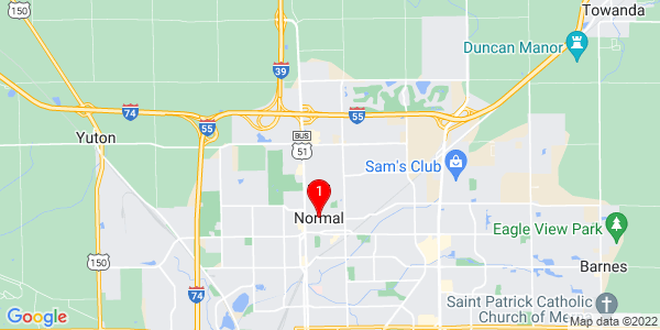 Google Map of Normal, IL
