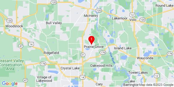 Google Map of Nunda, IL