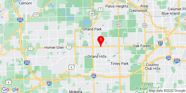 Google Map of Orland, IL