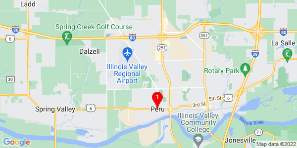Google Map of Peru, IL