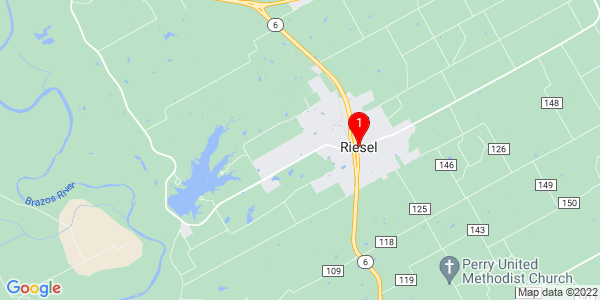 Google Map of Riesel, TX