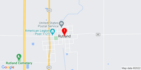 Google Map of Rutland, IL