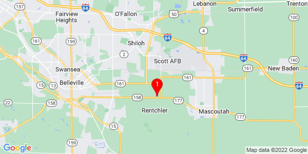 Google Map of Shiloh Valley, IL