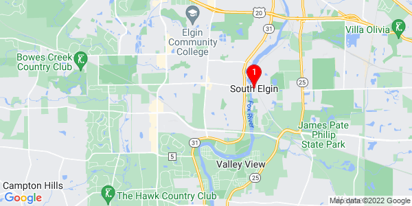 Google Map of South Elgin, IL