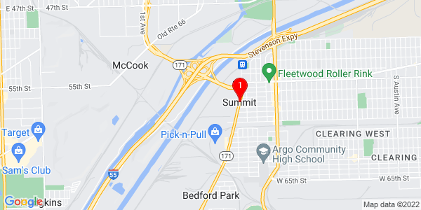 Google Map of Summit, IL