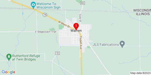 Google Map of Warren, IL