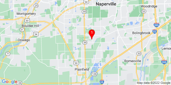 Google Map of Wheatland, IL