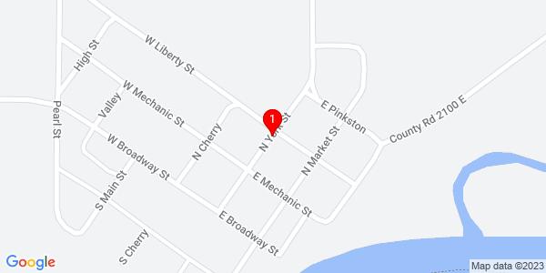 Google Map of York, IL