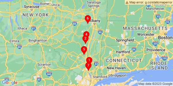Google Map of Albany, NY