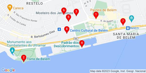 Google Map of belem portugal