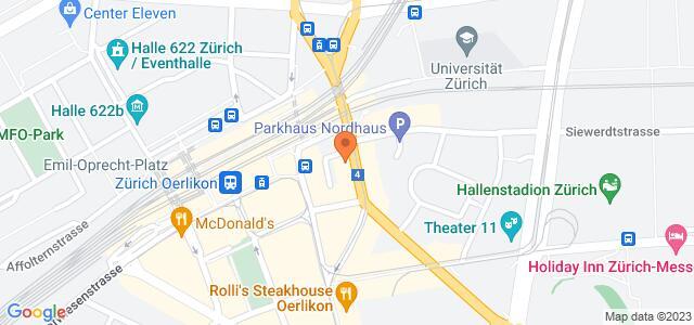 Google Map of schaffhauserstr. 373 8050 Zürich