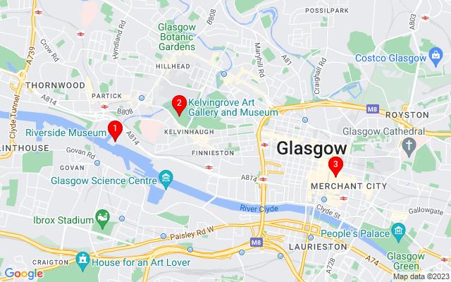 Google Map of glasgow