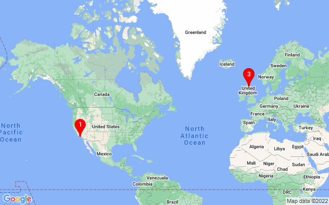 Google Map of glen moray distillery