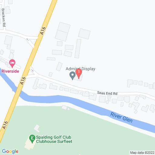 Google Map of 18 Seas End Road, Surfleet
