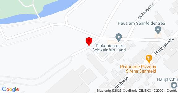 Google Map of 50.039917, 10.253890