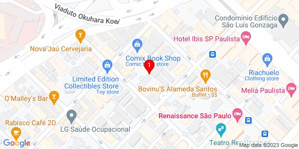Google Map of Brasil