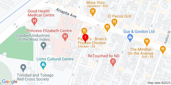 Google Map of Trinidad & Tobago