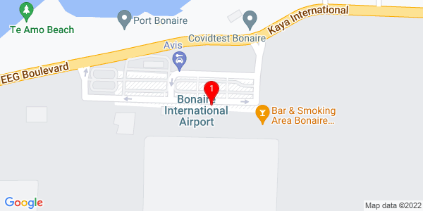 Google Map of Bonaire