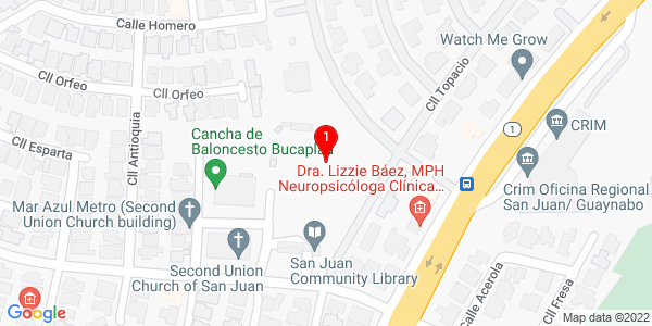 Google Map of Puerto Rico