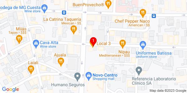 Google Map of Dominican Republic