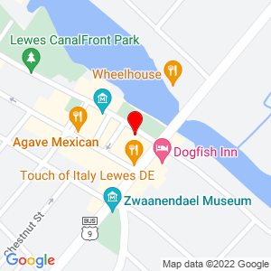 Google Map of 108 Front Street, Lewes DE, 19958