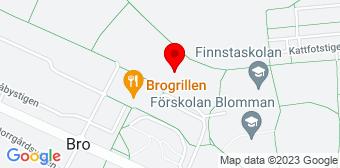 Google Maps Flyttstädning Bro centrum