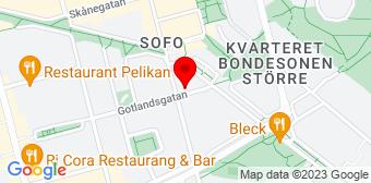 Google Map of Gotlandsgatan 75 116 39 Stockholm