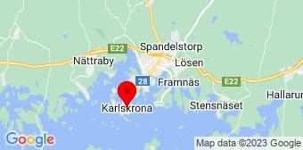 Google Maps Flyttstädning Karlskrona