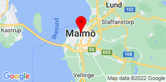 Google Maps badrumsrenovering Malmö