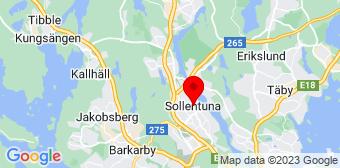 Google Maps badrumsrenovering Sollentuna
