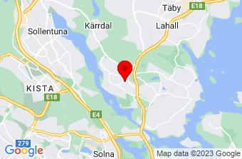 Google Maps badrumsrenovering Danderyd