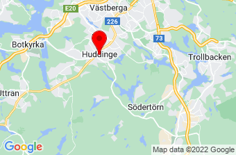 Google Maps badrumsrenovering Huddinge