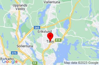 Google Maps badrumsrenovering Täby