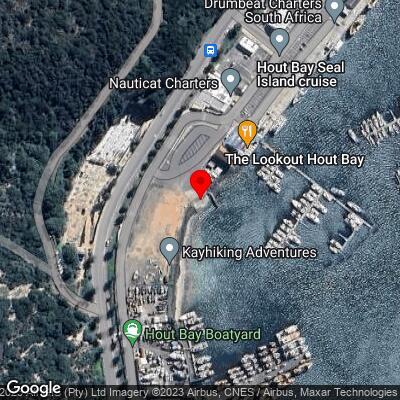 Hout Bay Harbor slipway