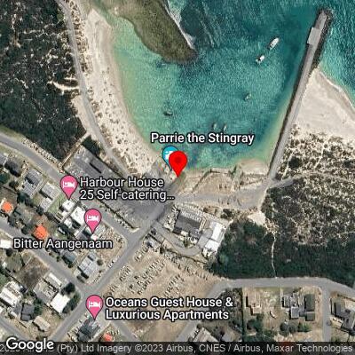 Struisbaai Harbor slipway