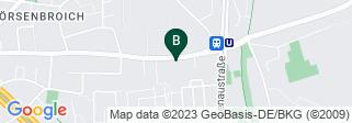 Google Map of  Mörsenbroicher Weg 151 40470 Düsseldorf