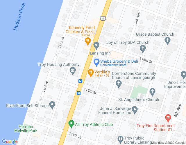 map of address